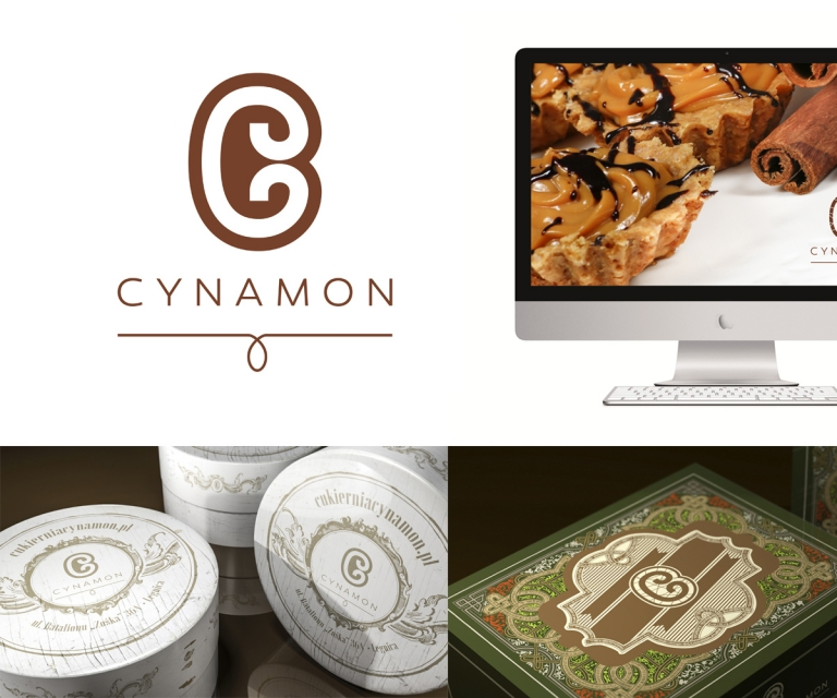 Cynamon-logo, system identification